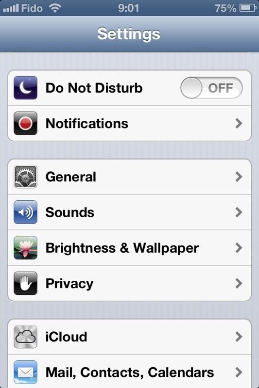 Как сделать фонарик при звонке на айфон 4s