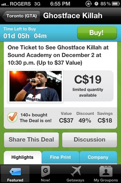 Groupon Ghost.