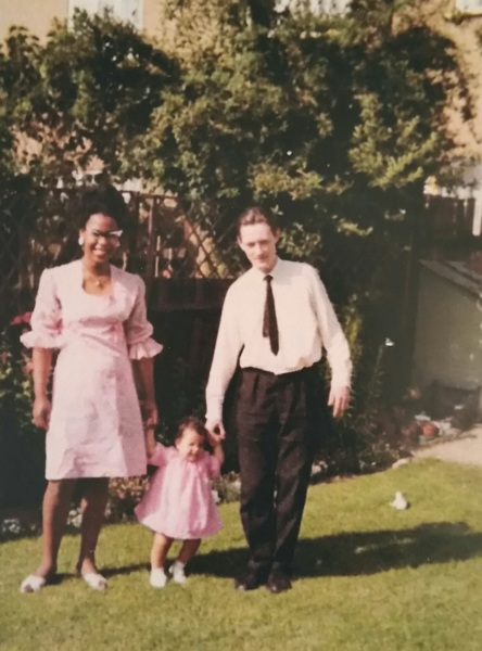 Nettie & our oh so cool parents, all while it was still illegal in the USA..