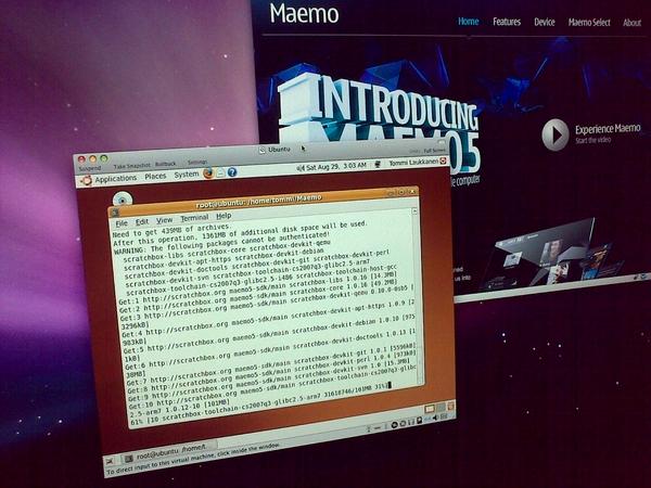Installing Maemo SDK