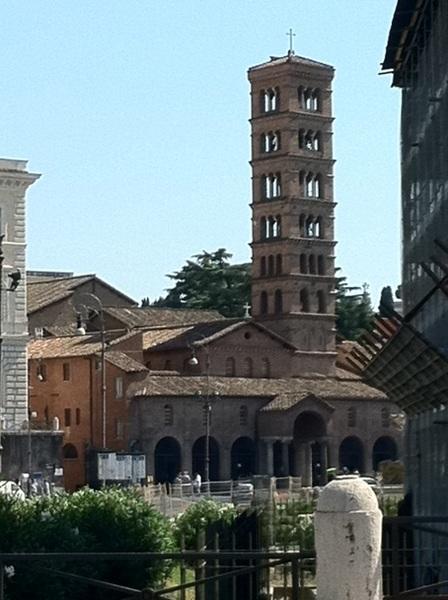 Piazza Della Bocca di Verita, Rome, Italy