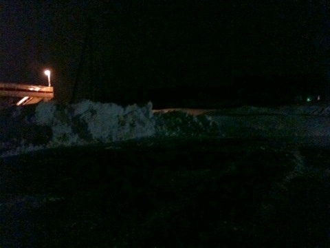 一日中雪投げしてましたが、途中終了…暗くなってしまいました。足腰がカチカチ(>_<)残り四分の一… #yokote #akita_misato #daisen #akita #akita_sonw #yuzawa