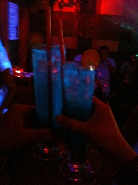 Fluo cocktails.. OMG