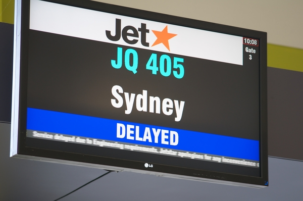 no surprises from JetStar! Osaka to Sydney in 23 hours - including 1 1/2 hours on a BUS in the wrong direction!