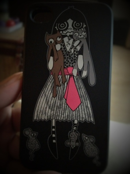 'Miss Marc' by Marc Jacobs ~ I still love the present given me by @jojowiththeflow for my iPhone4s.