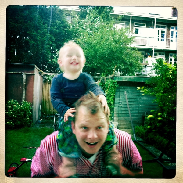 Fletcher of the day: fun with papa