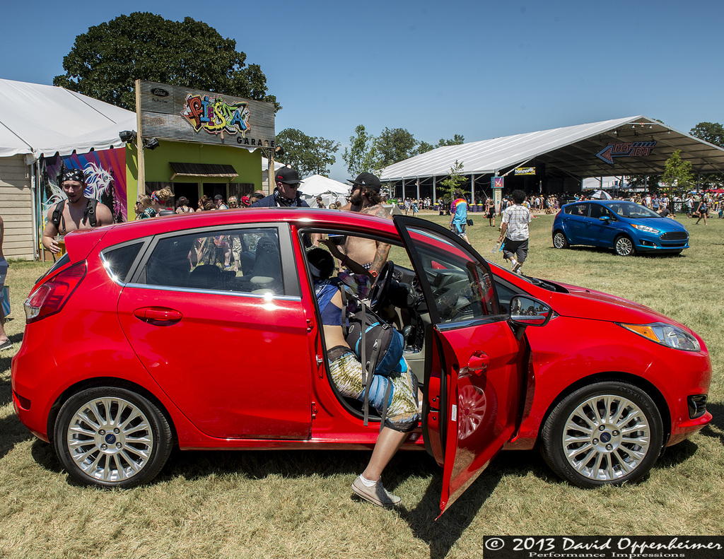 fiesta garage driven by ford at bonnaroo by david oppenheimer concertphotography on mobypicture. Black Bedroom Furniture Sets. Home Design Ideas