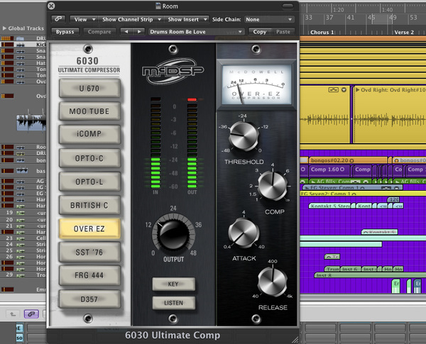 Loving the Ultimate Compressor by @McDSP_PlugIns. Thanks again to @RSPE for the giveaway that I happened to win.