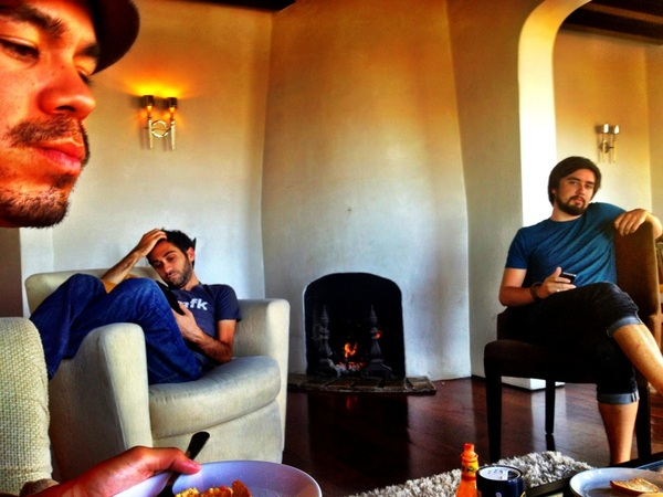 So glad to be home to love & laughs at The Villa @ChrisSaad @OmniALX @MarcusLovingood @princeofcode @bway @JohnnyDiggz