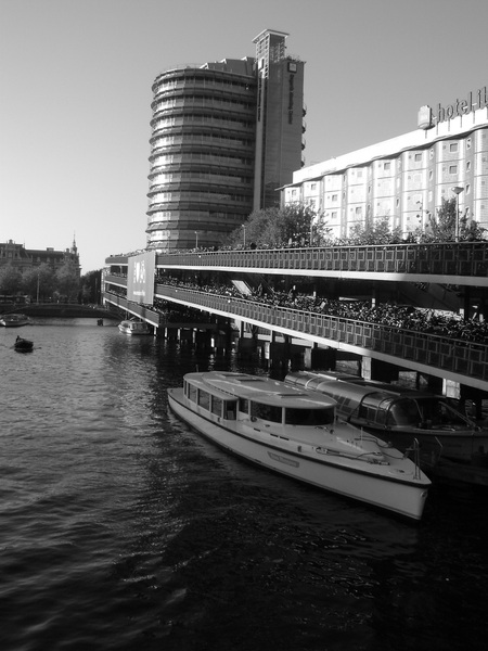 Amsterdam through my camera lens- a month's series of Amsterdam photos. Day 2: Friday's Black & White