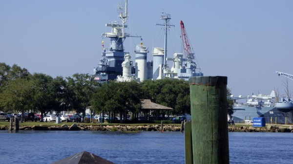 Downtown Wilmington - Battleship