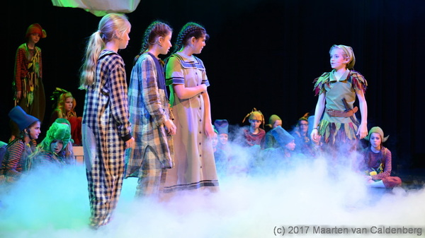 In @PERRON3  #rosmalen bracht #2stage #stage1 de #musical #peterpan