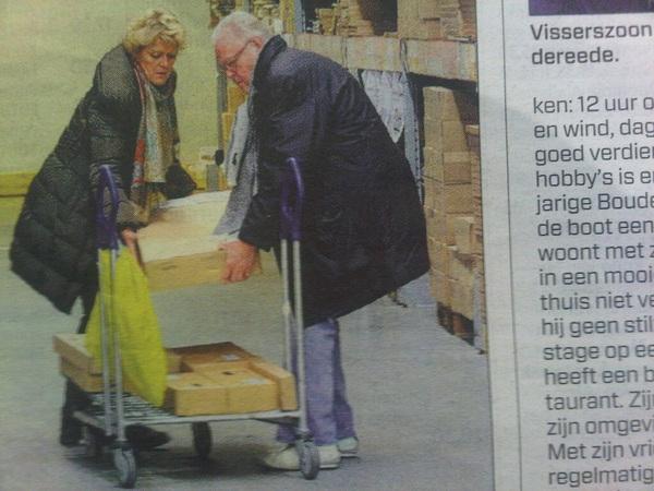 Simone Kleinsma en Guus Verstraete uit de Ikea Kast