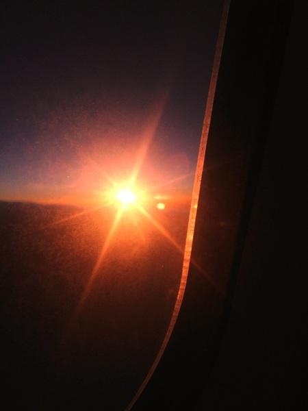 Sun is already back up....still Siberia