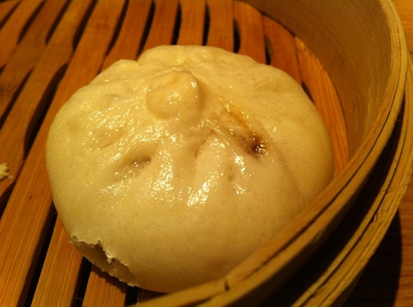 China Poblano: steamed pork belly buns. GREAT!