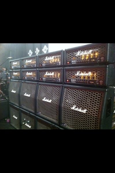 "FEB. putting finishing Touches on the ""STEEL CURTAIN"" BLACK LABEL MARSHALL✞TBLO✞"