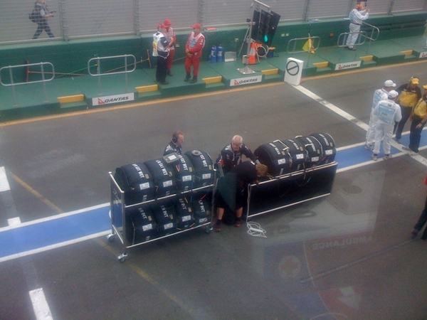 Our boys in the pitlane  #f1