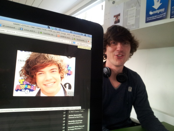 One Direction, bro! That's where it's at. #workatmoby /cc @phortuin