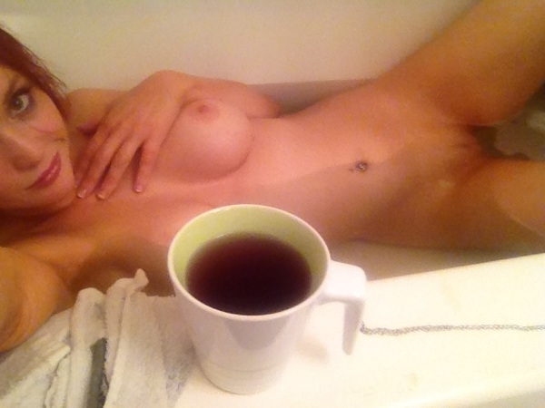 Green tea bathtub me earlier
