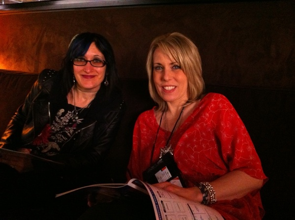 @writerstephanie and  @kimberlyderting at RT Con