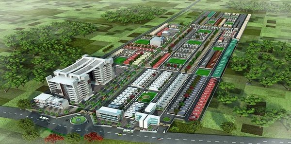 Wing residential township Lucknow sultanpur road