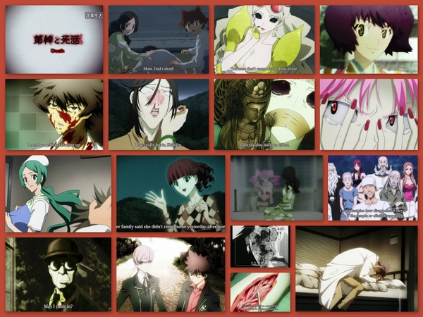 """#Shiki ep14: WOW! this ep falls under the categories of EXTREMELY hard to watch and """"how could he do that?"""" #anime"""