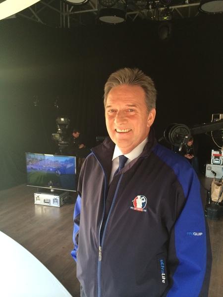 The main man here in the studio!!!  @SkySportsGolf #goeurope