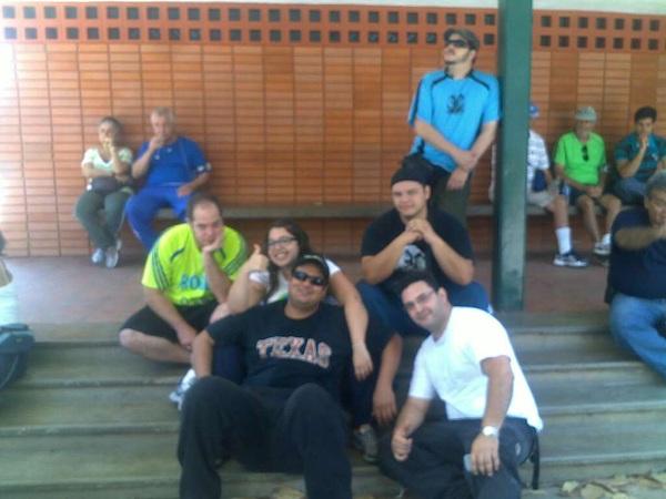 Con el team de #LosGorditosTambienCorren
