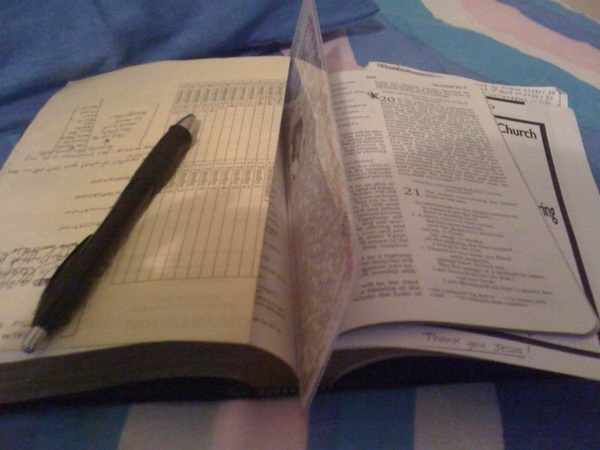 About to get on this bible reading before I nap and prepare for practice #2.. reading from the book of Isaiah! 