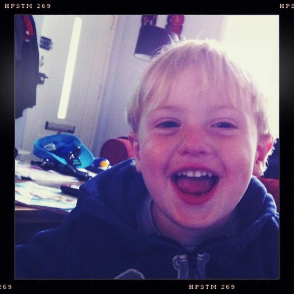 Fletcher of the day: happy boy