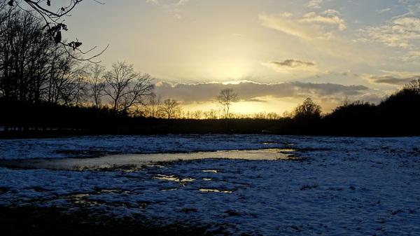 Ondergaande zon 14-01-1=2017 #buienradar