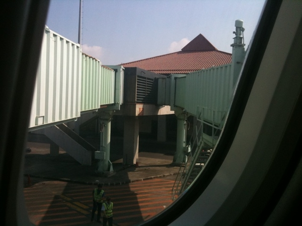 View from 18a at gate d2