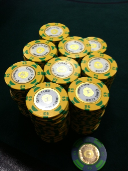 Thanks again for my weekly cash infusion, Oaks Card Club in lovely Oakland, CA! @LAPC ain't got nothin on this... ;)