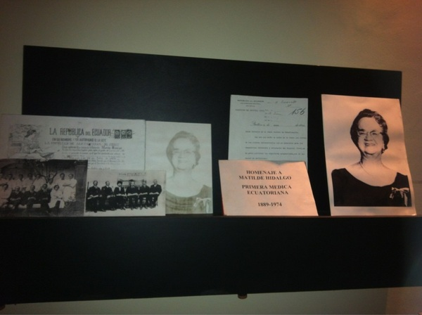 Matilde Hidalgo de Prócel, primera mujer que estudió medicina (1889-1974) #Quito #ciespalmovil