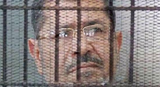 تحية اجلال واكبار لذلك الرئيس الصابر الصامد المحتسب   #محمد_مرسي  #محاكمة_مرسي