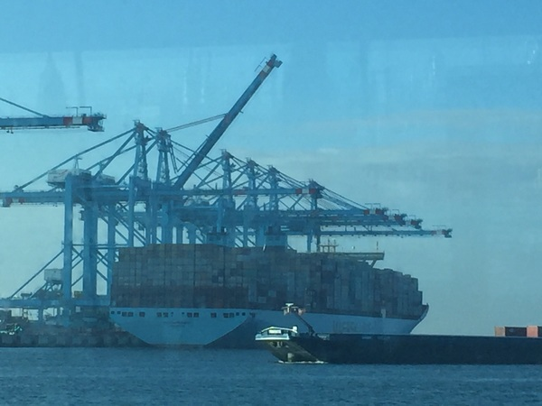 Grootste containerschip Maersk, 20.000 containers