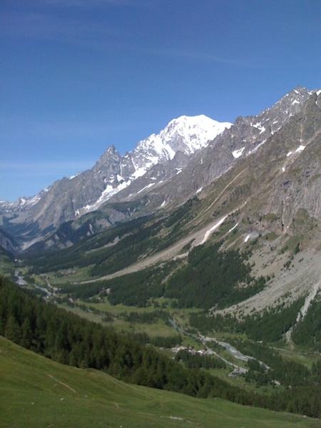 Ecco ci quoi, il Monte Bianco!