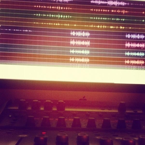 Bezig met een nieuwe track!