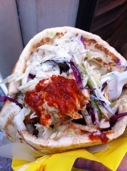 A must-stop for me in Paris: L'As de Falafel for possible the best falafel sandwich in the world!