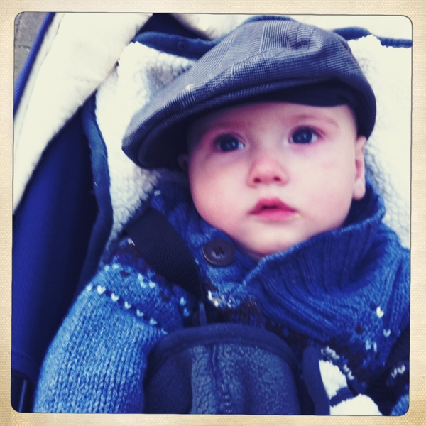 Fletcher of the day: ready for winter.