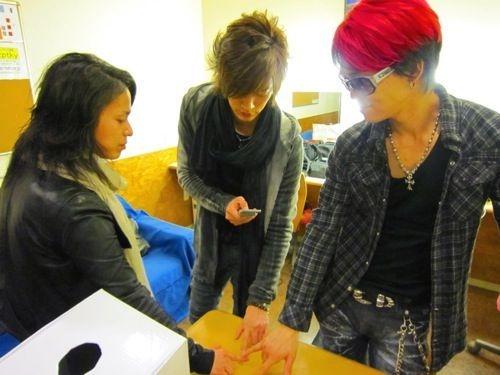 """Shinpei のヘアはすごいです ... (*_*)"""""""