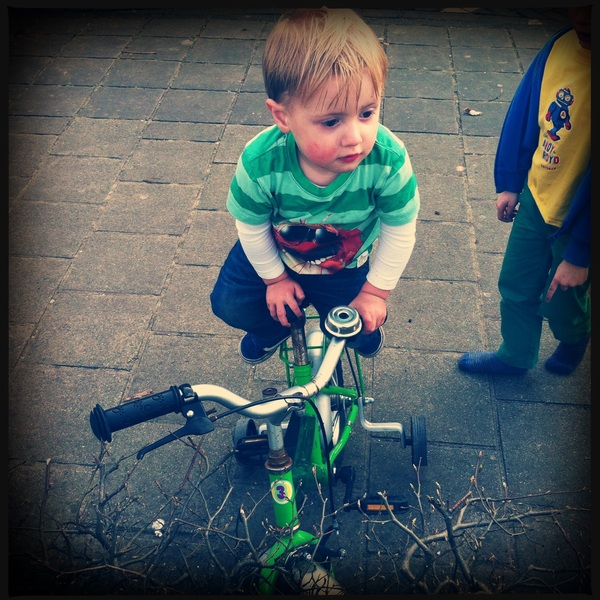 Fletcher of the day: bike