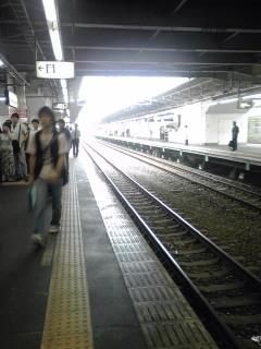 JR町田駅なう