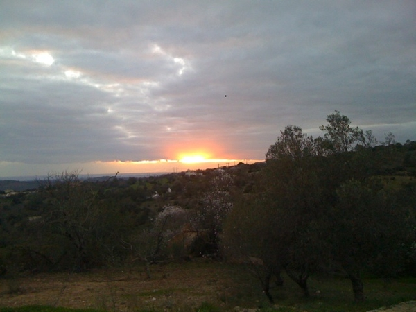 Sunset at Montenaluz, Portugal