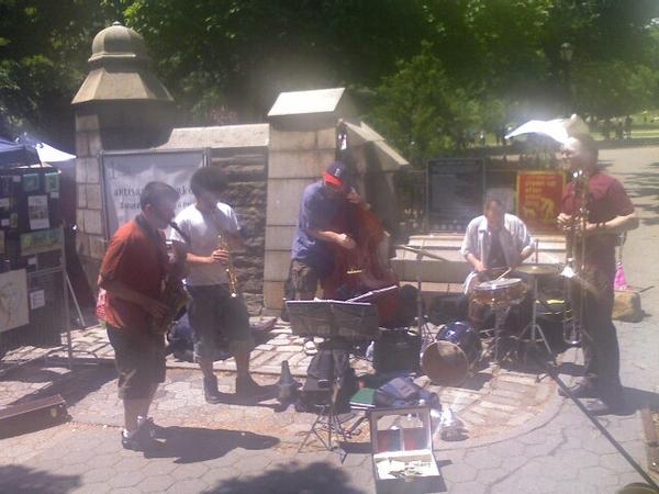 Jazz in Fort Greene Park