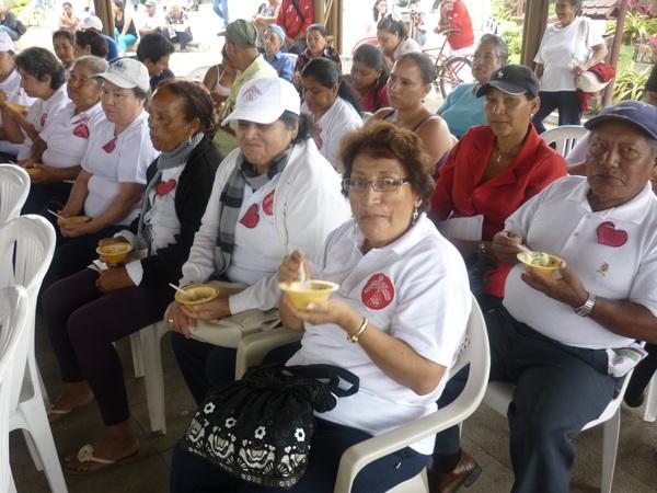 Degustación de Alimentos preparado por el Proceso de Nutrición DPS SDT
