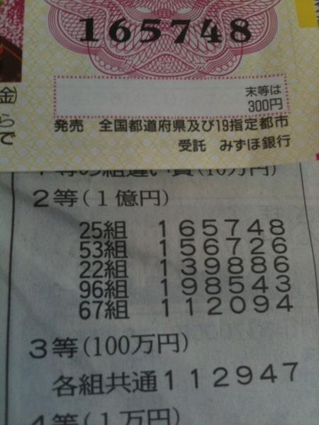 ウソだ!い、1億円!