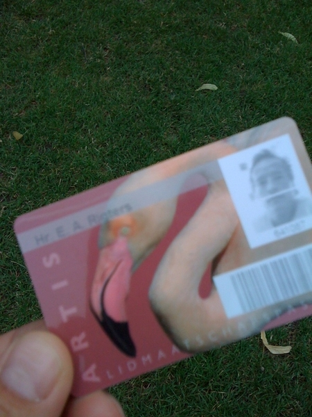 Got my Artis Zoo pass today.