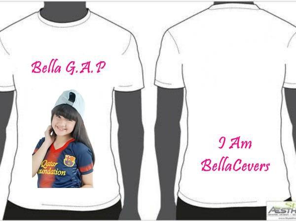 ini desain T-Shirt BCnya Bell @bellagraceva_ap .. promote yahh?? sekalian ksih tau Mami juga ya :3
