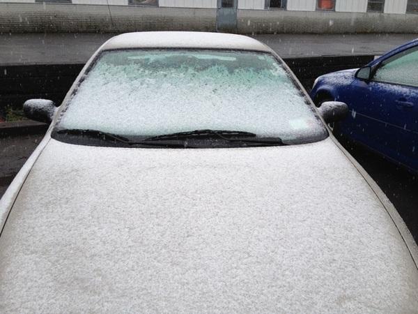 Hello winter in Ithaca
